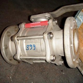 Klinger ST Ball Valve DN 80, manual